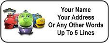 30 Chuggington Personalized Address Labels