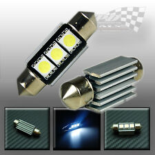 36MM C5W 5050 SMD LED FESTOON  WHITE NUMBER PLATE INTERIOR LIGHT BULB VAUXHALL