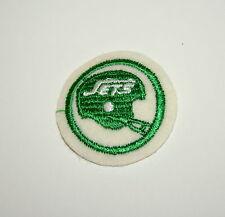 Vintage New York Jets Football Team Logo Jacket Hat Patch New NOS 1970s