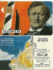 RARE / CARTE TELEPHONIQUE - RICHARD WAGNER ( NUMERPTEE AU VERSO ) / PHONECARD