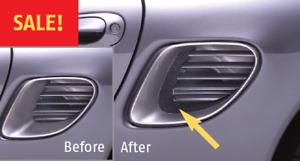 1997-2004 Porsche Boxster Side Air intake Enhancement by Techster