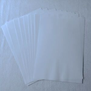 A4 Double Sided Self Adhesive Sheets Clear Transparent Sticky Film DIY Craft
