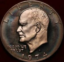 Uncirculated Proof 1974-S Silver Eisenhower Dollar