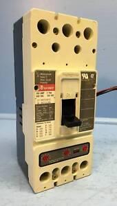 Westinghouse HMCP250C5C 250A Disjoncteur W / Aux Hmcp Cutler-Hammer 250 Amp