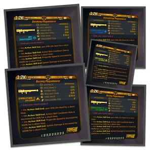 Borderlands 3 | Plaguebearer | ALL Elements | LVL 60 | Modded | XBOX / PS4