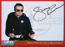 UFO - SHANE RIMMER (SR1) - Lieutenant Bill Johnson - VERY LIMITED Autograph Card
