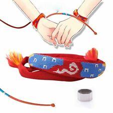 Anime Your Name Miyamizu Mitsuha Takic Bracelet Chain Hair tie Hanging Wire Hot
