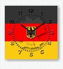 Design Handarbeit Deutschland Design Funk Wanduhr Wohnzimmer Küche Büro Uhr neu