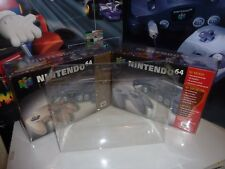 nintendo 64 console system box protectors .5 thick display case