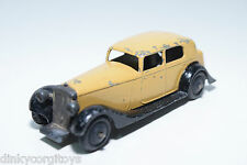 DINKY TOYS 30C 30 C DAIMLER TAN WITH BLACK EXCELLENT RARE