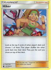 Pokemon SM Celestial Storm Trainer Card: Hiker - 133/168