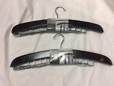 LOT OF 2 Dark Walnut Tie Hanger By Richards Homewares
