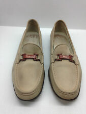Salvatore Ferragamo Women's Suede Flats Loafers Size 11 US.