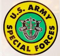 US ARMY SPECIAL FORCES DE OPPRESSO LIBER DECAL - STICKER - MADE IN THE USA!!!!!