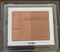 Clarins Bronzing Duo Mineral Compact Powder SPF15 03 dark 10g