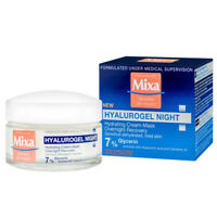 Mixa Hydrating Cream-Mask Overnight Recovery with Hyaluronic Acid Glycerin 50 ml