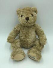"""Herrington Teddy Bears Signature Collection Teddy Bear Tan Jointed Plush 12"""" C"""