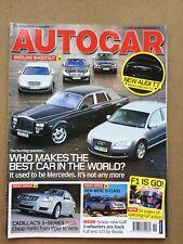 Autocar Magazine - 15 March 2006 - Octavia vRS Lexus 400h SE-L BMW Z4 2.5Si