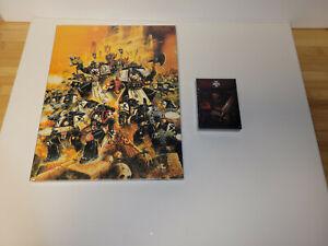 Warhammer 40k Black Templars Codex Supplement 9th Edition With Data Cards