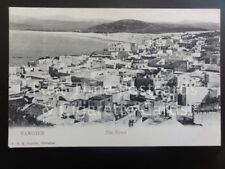Tangier: Panoramic View of The Town, Old PC - Pub by V.B. Cumbo of Gibraltar