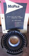 Original 1965 Chrysler New Yorker NY Wheel Cover Center MEDALLION MoPar