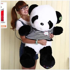 "32"" Lovely Giant Big Panda teddy bear Plush Doll Toy baby Birthday gift 55cm"