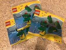 Lot Of 3, New LEGO 40019 Creator Green Dragon Polybag Sealed