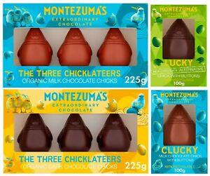 Montezuma's Easter Chocolates VEGAN OPTION AVAILABLE Organic Easter Egg Chick
