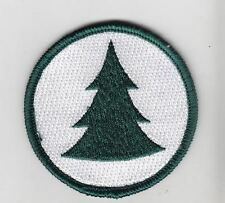 Pine Tree Nature patch, Earth day nature lover patch