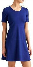 New- Athleta Size Large Midnight Blue En Route Dress Nwt $98