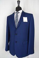 Men's New Limehaus Super Slim Fit Blue Suit 42R W36 L32 AA420