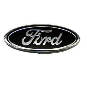 """7"""" Black For Ford 04-14 F150 Rear Tailgate Emblem Grille Decal Badge Nameplate"""