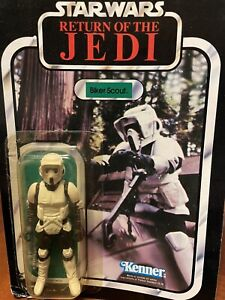 Vintage 1983 Star Wars ROTJ Stormtrooper Biker Scout Complete w/ Original Box