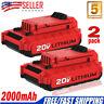 2 NEW PCC685L For Porter Cable 20V MAX 2.0AH PCC680L-2 PCC682L Lithium US Stock