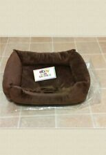 New listing Very Small Dog Brown Cushion Pet Bed !