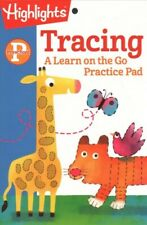 Tracing, Preschool, Paperback by Highlights for Children (COR), Like New Used...