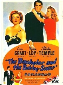 """New DVD """" The Bachelor and the Bobby-Soxer """"Cary Grant, Myrna Loy Shirley Temple"""