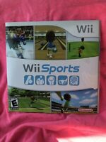 Wii Sports Nintendo 2006 Complete disc manual sleeve case TESTED works