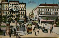 2465: Ansichtskarte Postkarte Berlin Friedrichstraße Unter den Linden