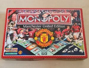 Winning Moves Monopoly Manchester United FC Board Game Limited Edition 2003