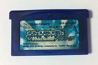 USED Nintendo GBA Pocket Monster Sapphire JAPAN Game Soft Only Pokemon Japanese