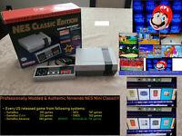 Nintendo Classic Edition NES Mini Game w/ 2600 Games NES SNES Gameboy GBA + N64