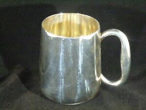 Vintage Silver Plated 1 Pint Mug Tankard by Elkington & Co 35129