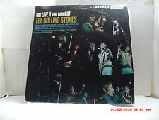 "THE ROLLING STONES -(LP)- GOT LIVE IF YOU WANT IT! - INCLUDES ""LADY JANE"" - 1966"