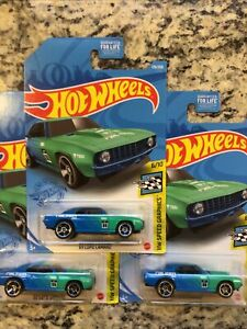 2021 Hot Wheels '69 Chevy COPO Camaro~lot of 3~FREE SHIPPING in the US!