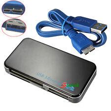 USB 3.0 Multi Memory Card Reader SD MS M2 CF XD SDHC SDXC Win 7 Mac UK SELLER