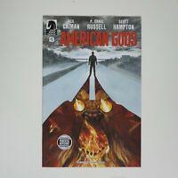 American Gods #1 Nerd Block Exclusive Variant Cover Dark Horse Comic Neil Gaiman