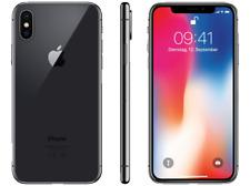 Apple iPhone X - 64GB - Space Grau Schwarz (Ohne Simlock) A1901 * WIE NEU * WOW