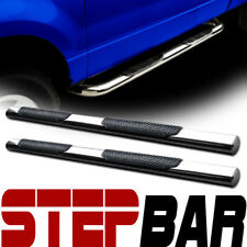 """For 06-12 Toyota Rav4 4"""" Oval Chrome Stainless Side Step Nerf Bar Running Board"""