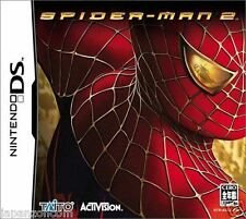 Used DS Spider-Man 2 TAITO  NINTENDO JAPANESE IMPORT